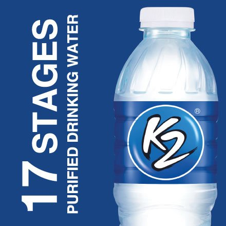 17 Stages Purified Drinking Water